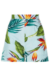 The Hawaiian Shorts - Aqua