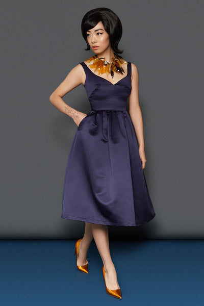 The Sweetheart Prom Dress - Navy