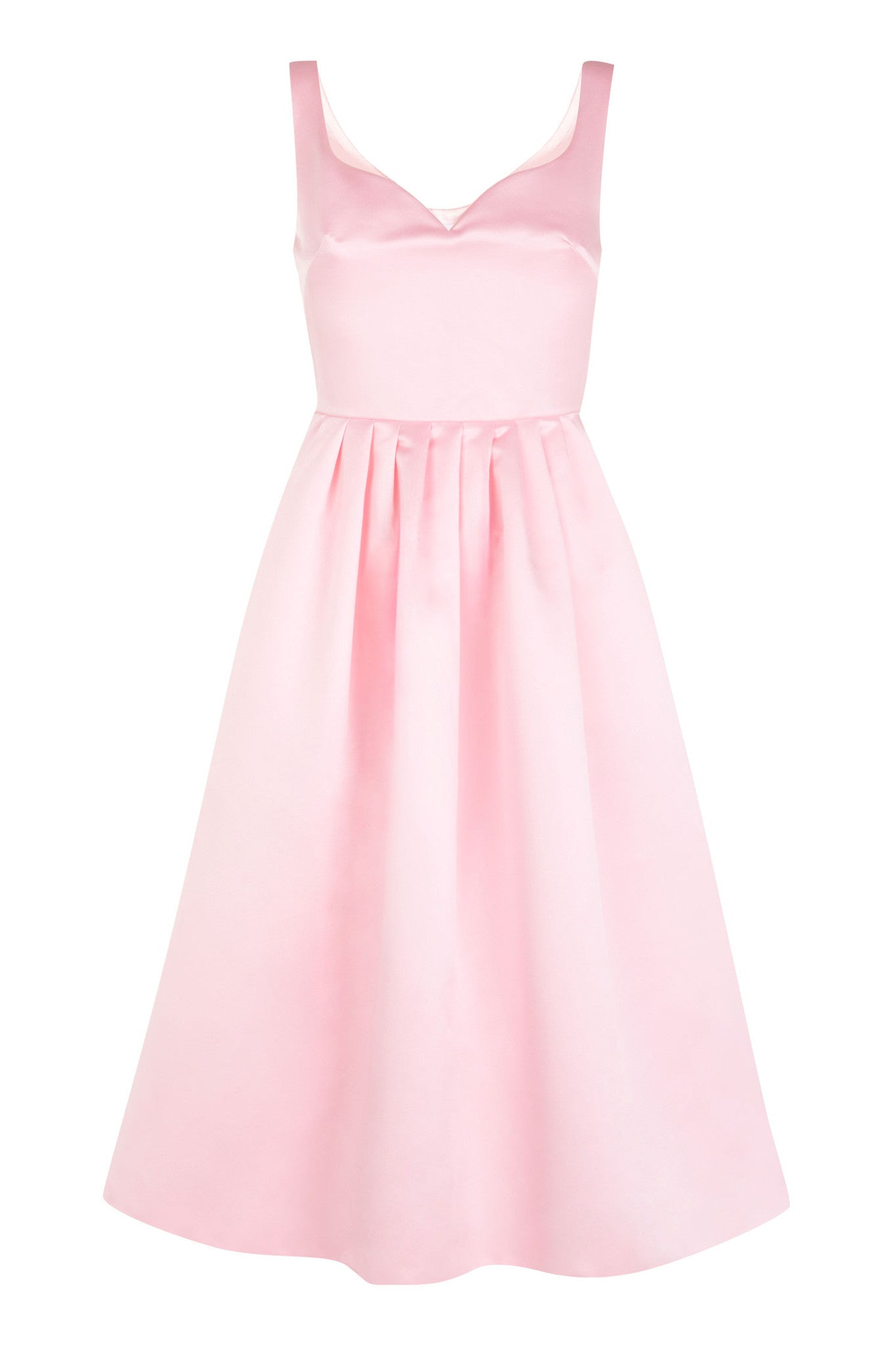 The Sweetheart Prom Dress - Powder Pink