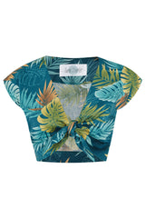 The Hawaiian Knot Top - Teal