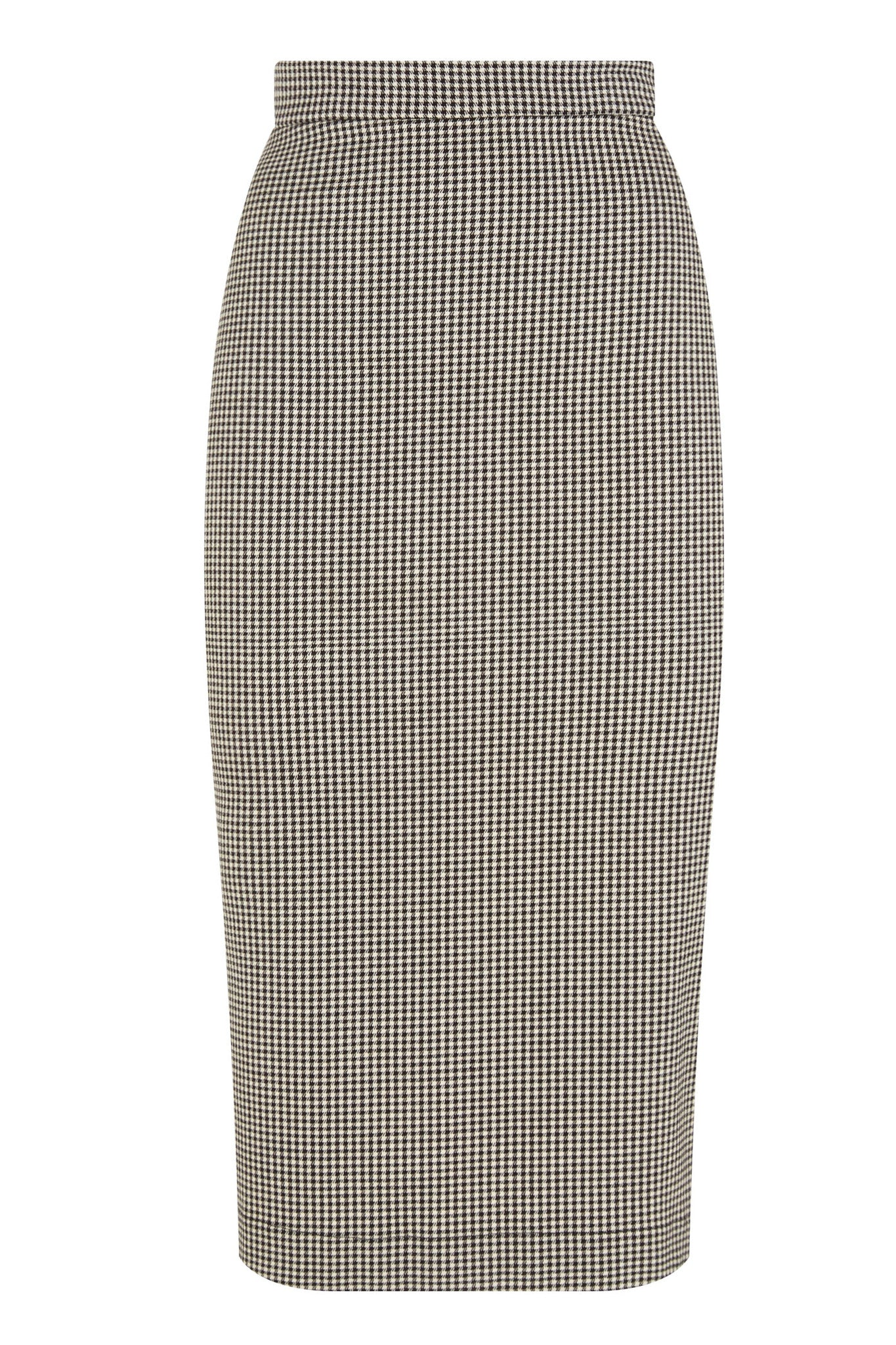 The Wiggle Skirt - Houndstooth