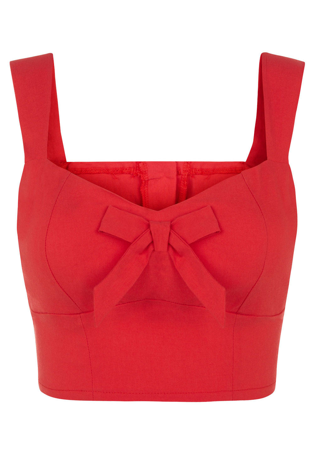 The Bow Bodice - Red