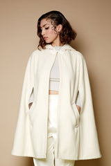 The Caroline Cape - Cream