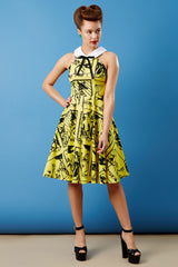 The Maverick Dress - 'Pinup Picado'
