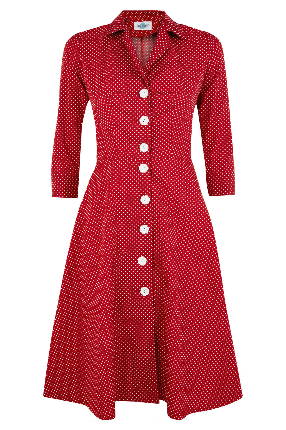 The Molly Dress - Red