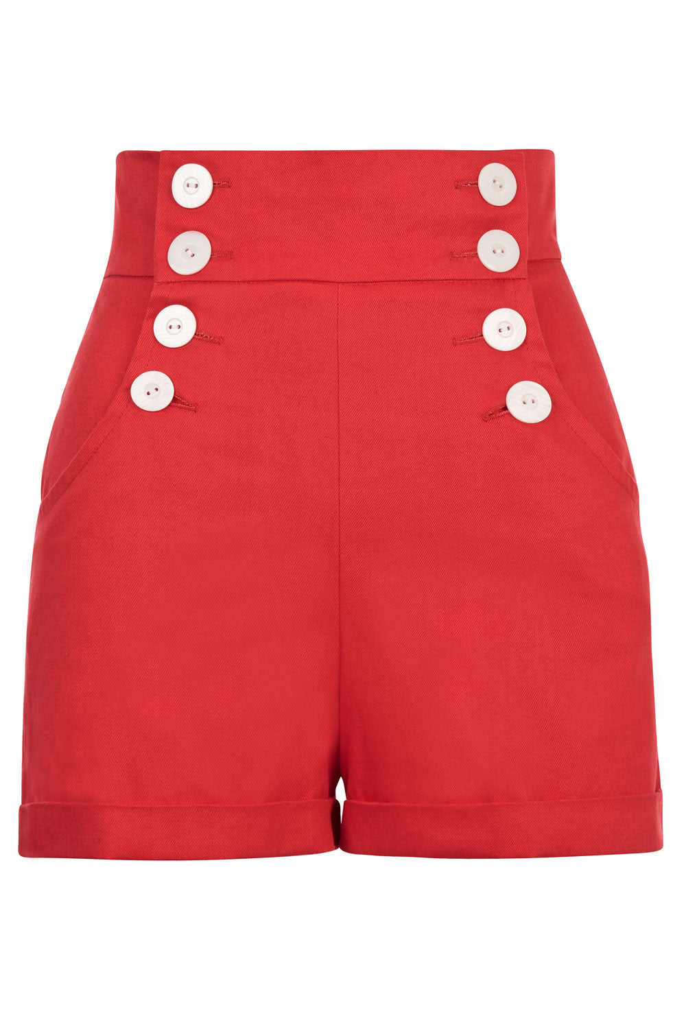 The Sailor Shorts - Red