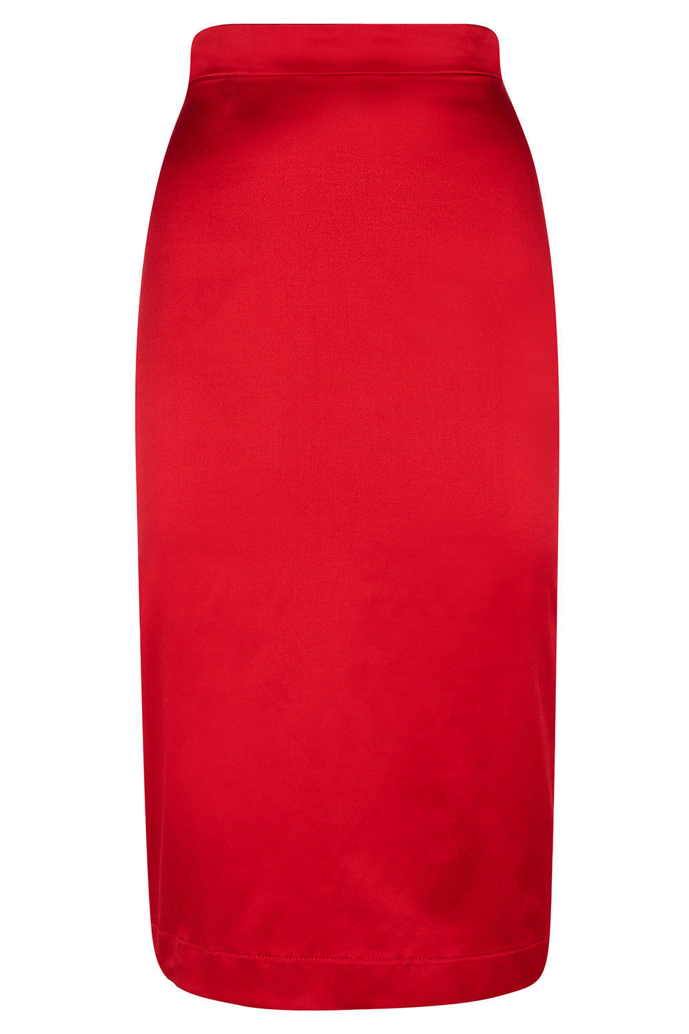 The Wiggle Skirt - Red