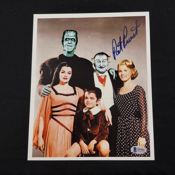 PAT PRIEST Signed 8x10 Photo Marilyn THE MUNSTERS Autograph BAS BECKETT COA - HorrorAutographs.com