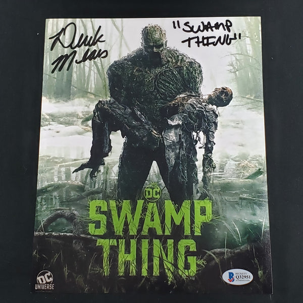 DEREK MEARS Signed 8x10 Photo DC's SWAMP THING Autograph BAS BECKETT COA - HorrorAutographs.com