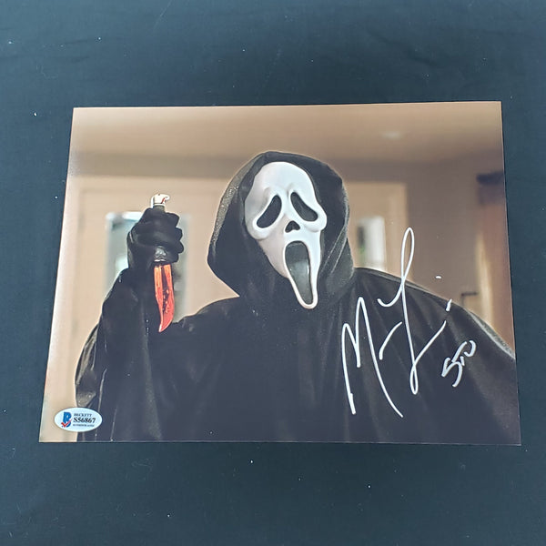 MATTHEW LILLARD Signed 8x10 Photo Scream Stu BAS BECKETT COA A - HorrorAutographs.com