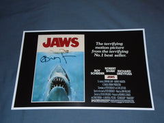 RICHARD DREYFUSS Signed JAWS 11x17 Movie Poster Autograph HORROR COA C