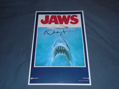 RICHARD DREYFUSS Signed JAWS 11x17 Movie Poster Autograph HORRRO COA B