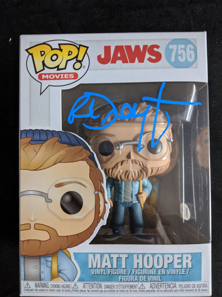 RICHARD DREYFUSS Signed MATT HOOPER Funko Pop Figure JAWS Autograph Beckett BAS COA - HorrorAutographs.com