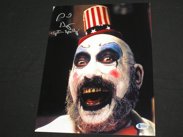 SID HAIG Signed Captain Spaulding 10x13 Photo Autograph The Devil's Rejects BAS BECKETT COA A