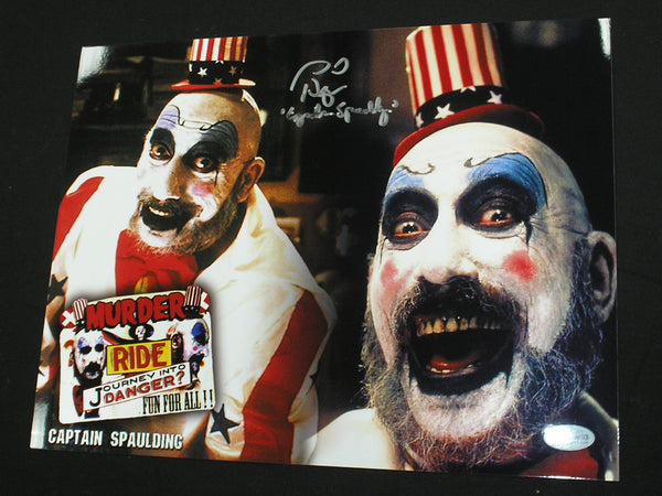 SID HAIG Signed Captain Spaulding 10x13 Photo Autograph The Devil's Rejects BAS BECKETT COA B