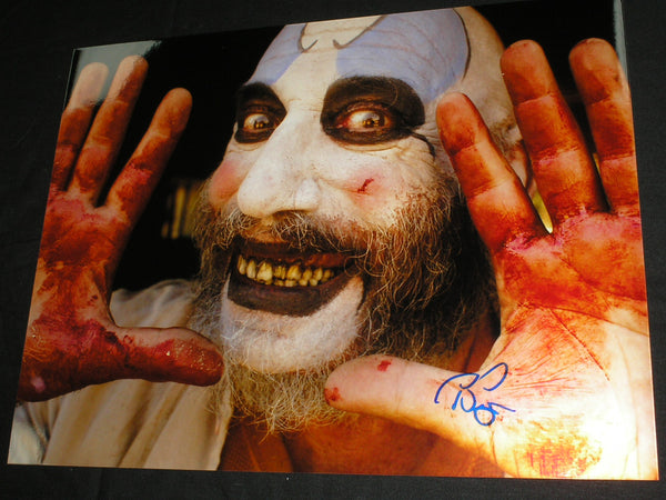 SID HAIG Signed Captain Spaulding 10x13 Photo Autograph The Devil's Rejects C - HorrorAutographs.com
