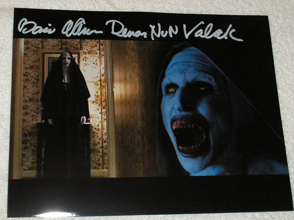 BONNIE AARONS Signed 8x10 Photo THE NUN Conjuring 2 Autograph Signing Pic A - HorrorAutographs.com