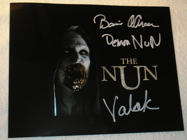 BONNIE AARONS Signed 8x10 Photo THE NUN Conjuring 2 Autograph Signing Pic F - HorrorAutographs.com