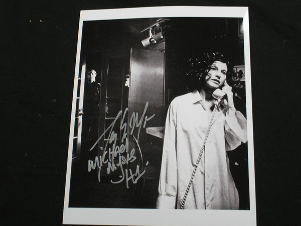 TONY MORAN Signed Michael Myers 8x10 Photo HALLOWEEN Autograph H