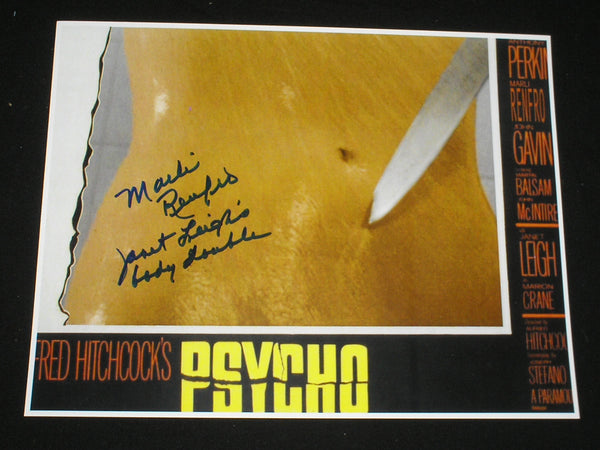 MARLI RENFRO Signed PSYCHO 8x10 Photo Janet Leigh Body Double in Autograph A