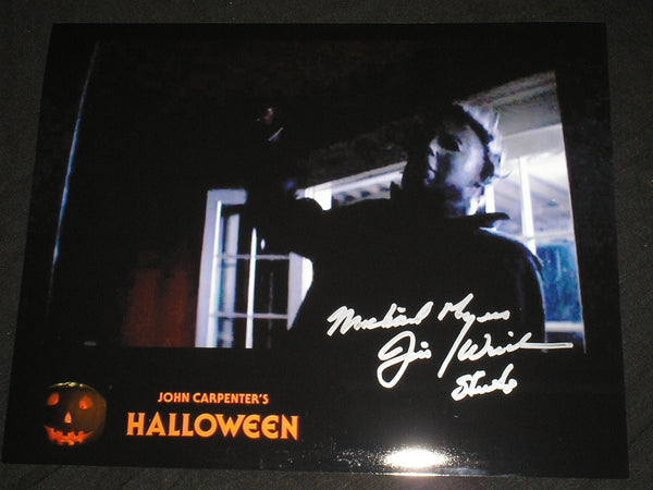 JIM WINBURN Signed 8x10 Photo Michael Myers 1978 HALLOWEEN Autograph L - HorrorAutographs.com