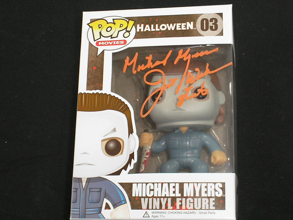 JIM WINBURN Signed MICHAEL MYERS Funko Pop Figure 1978 Halloween Autograph RARE