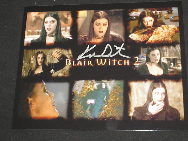 KIM DIRECTOR Signed 8x10 Photo Blair Witch Project 2 Autograph B - HorrorAutographs.com