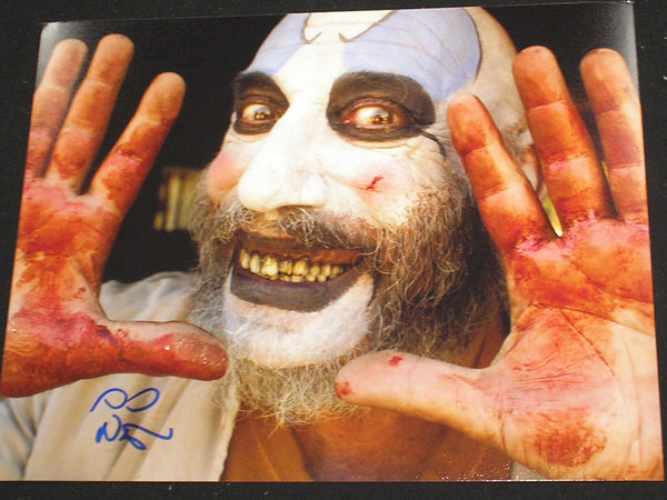 SID HAIG Signed Captain Spaulding 8x10 Photo Autograph The Devil's Rejects BAS BECKETT COA C - HorrorAutographs.com