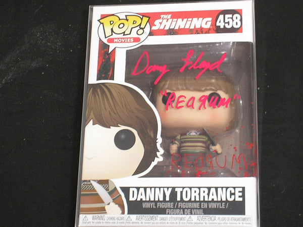 DANNY LLOYD Signed Danny Torrance Funko Pop Figure Autograph The Shining RARE - HorrorAutographs.com