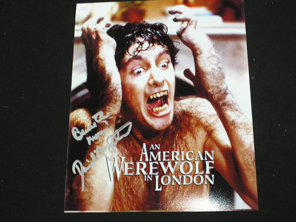 DAVID NAUGHTON Signed 8x10 Photo American Werewolf in London Autograph A - HorrorAutographs.com