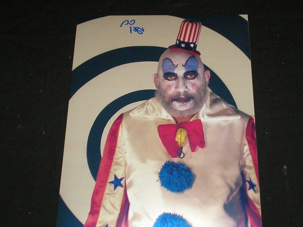 SID HAIG Signed Captain Spaulding 8x10 Photo Autograph The Devil's Rejects E