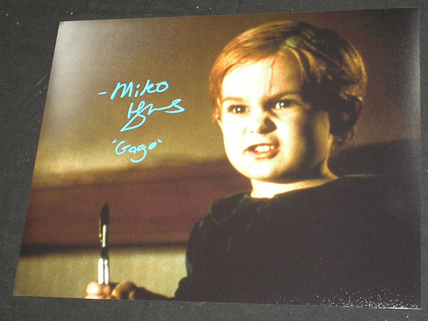 MIKO HUGHES Signed 8x10 Photo Gage PET SEMATARY Autograph A - HorrorAutographs.com