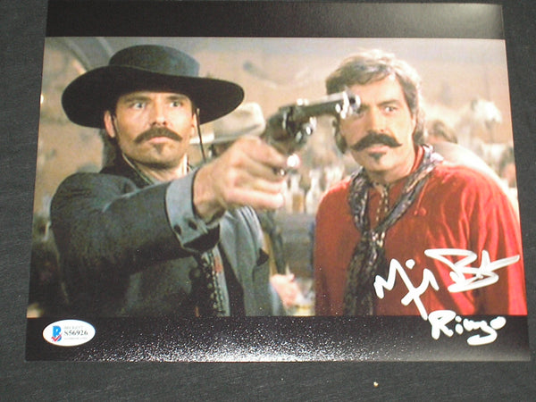 MICHAEL BIEHN Signed TOMBSTONE 8x10 Photo Autograph Johnny RINGO BAS BECKETT COA A - HorrorAutographs.com