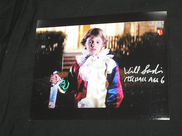 WILL SANDIN Michael Myers Age 6 Signed 8x10 Photo Halloween 1978 Autograph Rare - HorrorAutographs.com