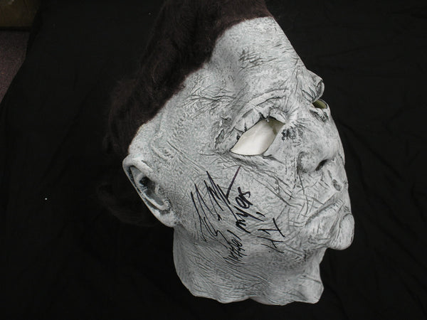 TONY MORAN Signed Michael Myers MASK HALLOWEEN HORROR COA - HorrorAutographs.com