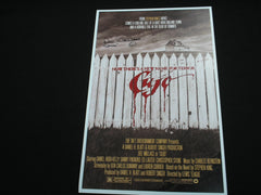 DEE WALLACE Signed CUJO 11x17 Movie Poster Autograph