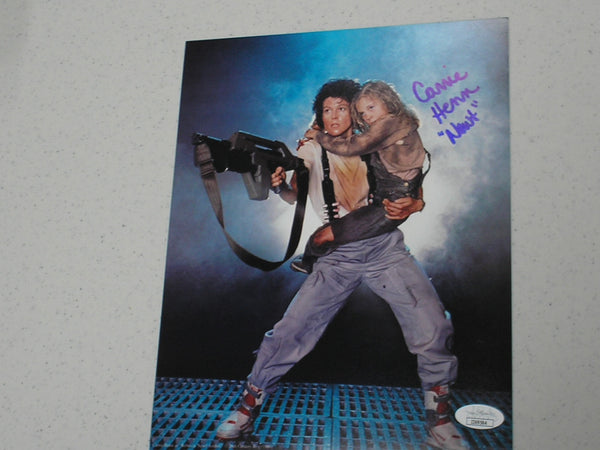 CARRIE HENN Signed ALIENS 8x10 Photo Autograph NEWT JSA COA A