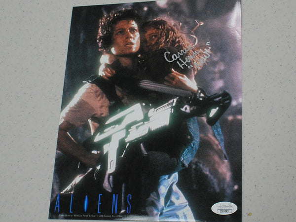 CARRIE HENN Signed ALIENS 8x10 Photo Autograph NEWT JSA COA C