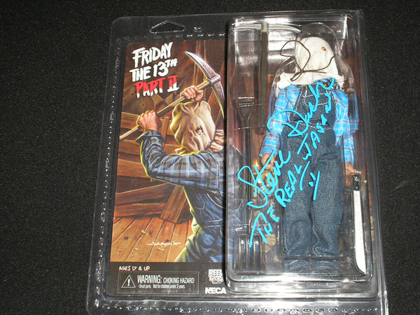 STEVE DASH Signed NECA Jason Voorhees Figure Autograph Friday the 13th Part 2 - HorrorAutographs.com