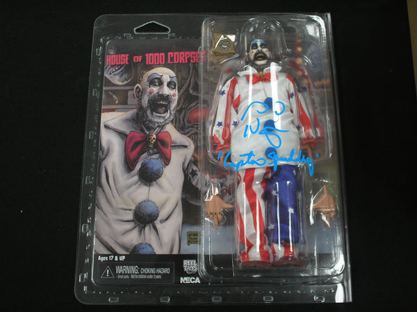 Sid Haig signed Captain Spaulding 2016 NECA Figure The Devils Rejects House 1,000 Corpses BAS BECKETT COA