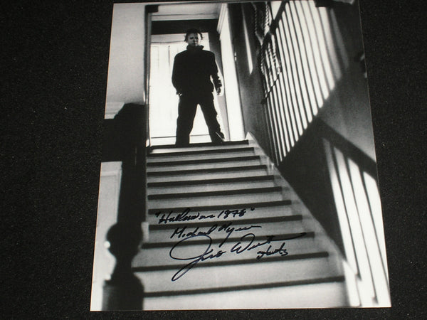 JIM WINBURN Signed 8x10 Photo Michael Myers 1978 Halloween Autograph A - HorrorAutographs.com