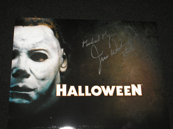JIM WINBURN Signed 8x10 Photo Michael Myers 1978 Halloween Autograph J - HorrorAutographs.com