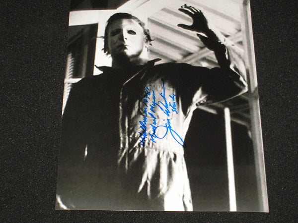 JIM WINBURN Signed 8x10 Photo Michael Myers 1978 Halloween Autograph E - HorrorAutographs.com