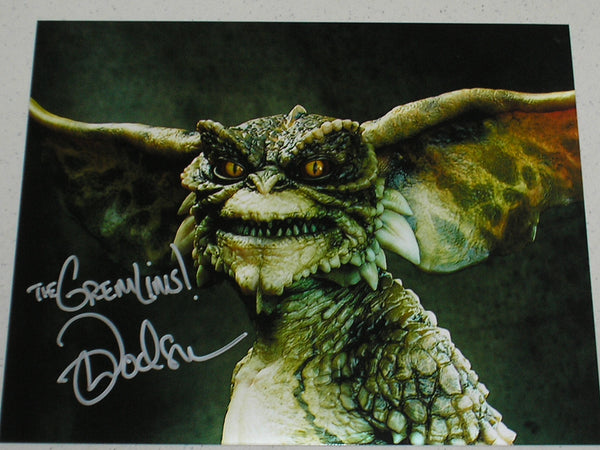 MARK DODSON Signed GREMLINS 8x10 Photo Autograph A - HorrorAutographs.com