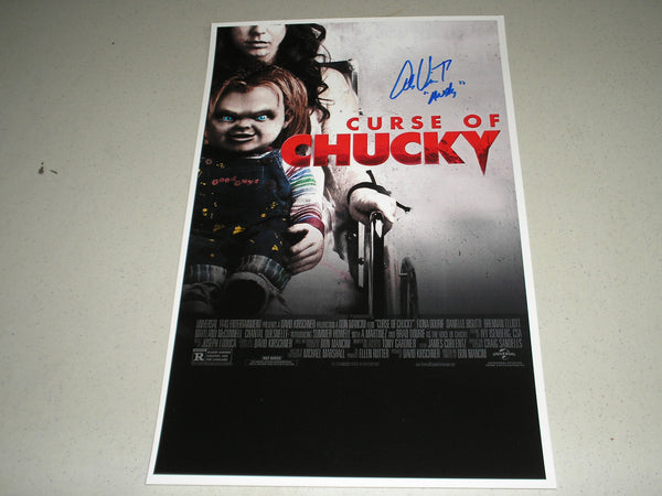 ALEX VINCENT Signed Curse of Chucky 11x17 Movie Poster Autograph Child's Play Franchise - HorrorAutographs.com