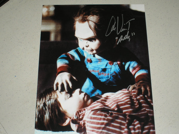ALEX VINCENT Signed 8x10 Photo Autograph Child's Play Chucky C