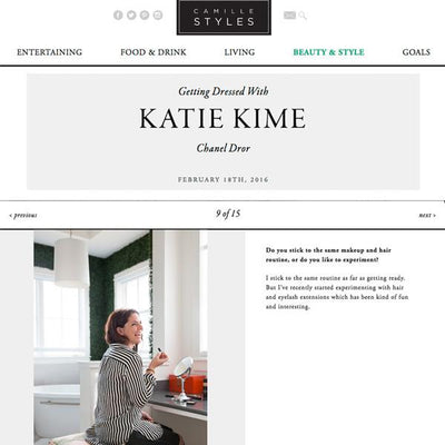 Camille Styles | Getting Dressed With Katie Kime