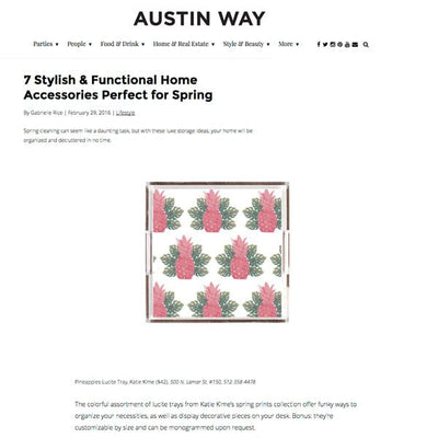 Austin Way | 7 Stylish & Functional Home Accessories For Spring