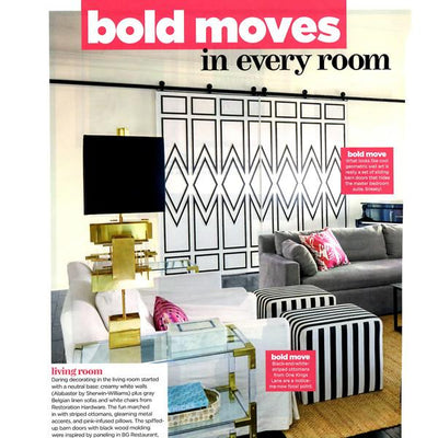 HGTV Magazine | Home Tour | Bold Moves in Every Room