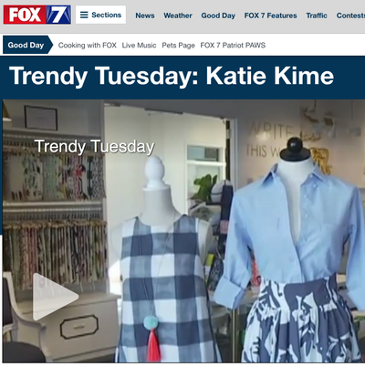 Fox News | Trendy Tuesday: Katie Kime | January 2017